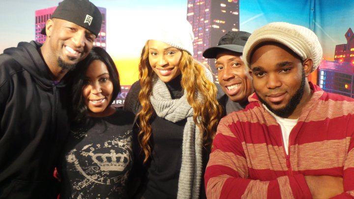 Rickey Smiley Morning Show & Cynthia Bailey