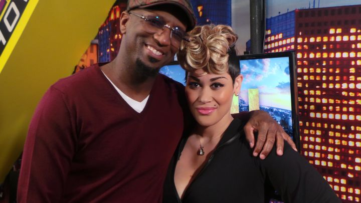 Rickey Smiley with KeKe Wyatt