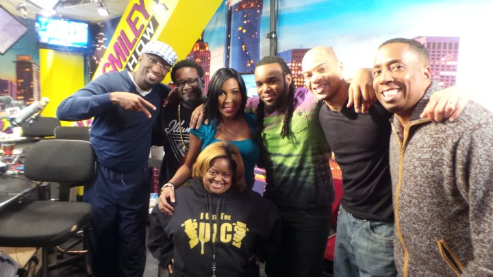 Rickey Smiley Morning Show with T-Pain