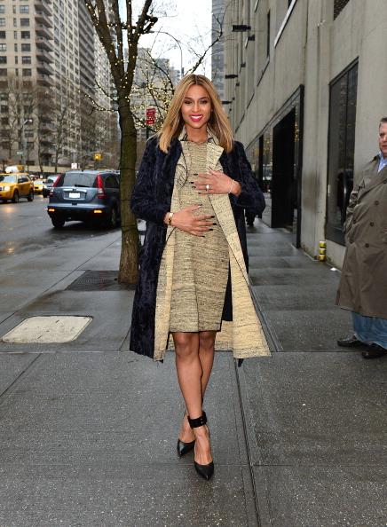 Ciara Shows Baby Bump In NYC