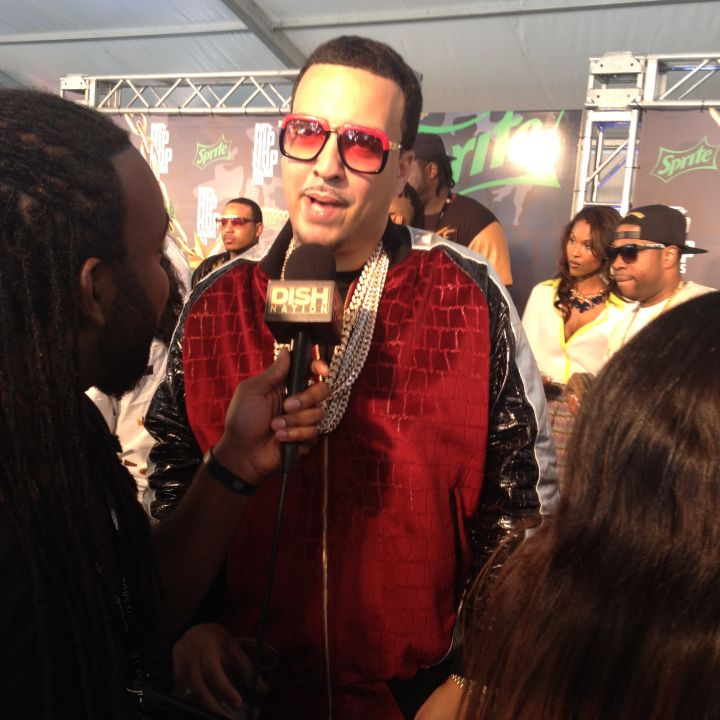 Headkrack Talks To French Montana On The Red Carpet At The 2013 BET Hip Hop Awards
