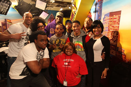 "Mindless Behavior Visits ""The Rickey Smiley Morning Show"""