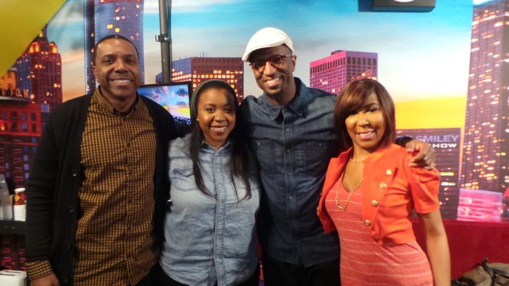 Pastor Creflo Dollar and Jordan Dollar With The Rickey Smiley Morning Show