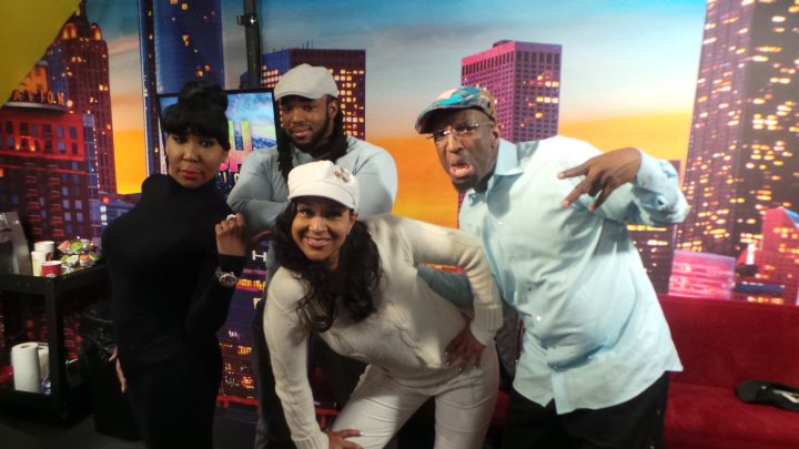 Lisa Raye & The Rickey Smiley Morning Show