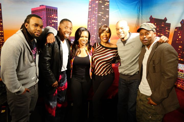 Kandi With The Rickey Smiley Morning Show
