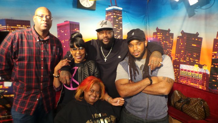 Rickey Smiley Morning Show with Rick Ross
