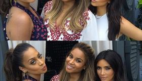 LaLa Anthony, Ciara & Kim Kardashian