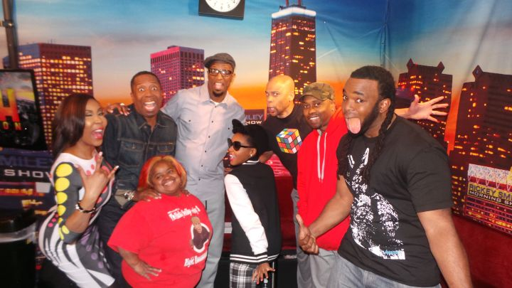 Janelle Monae With The Rickey Smiley Morning Show