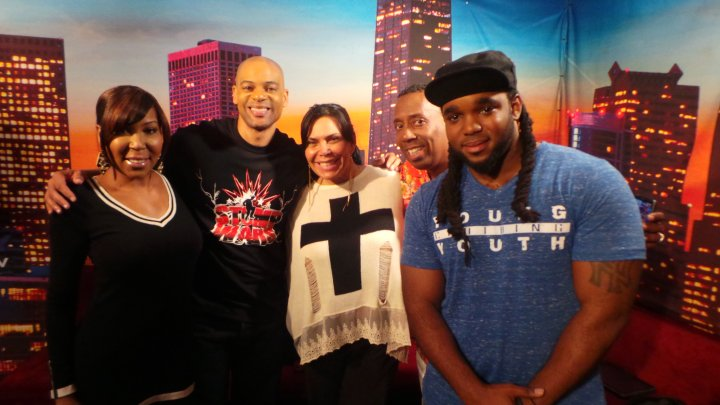 Mob Wives' Renee Graziano With The Rickey Smiley Morning Show