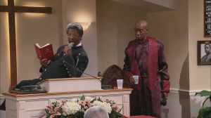 Rickey Smiley as a Pastor 2014 TV One