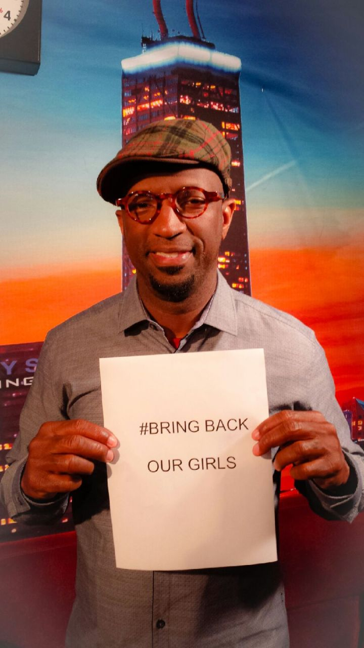 Rickey Smiley Supports The #BringBackOurGirls Movement