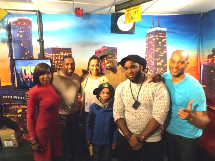 Lala Anthony With The Rickey Smiley Morning Show