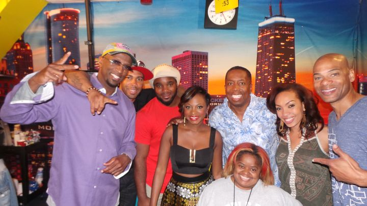 The Rickey Smiley Morning Show with Naturi Naughton and Omari Hardwick