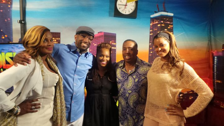 Atlanta Exes Visits The Rickey Smiley Morning Show