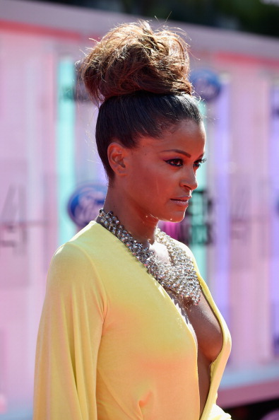 Claudia Jordan At The 2014 BET Awards