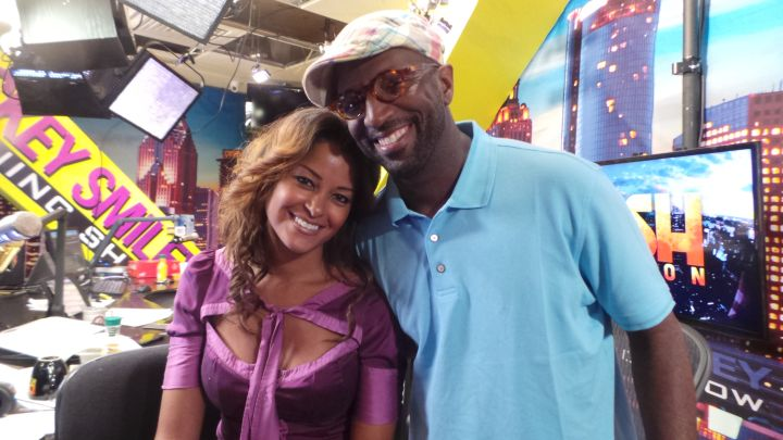 Claudia Jordan & Rickey Smiley