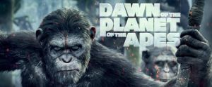Movie poster for Dawn of the Planet of the Apes