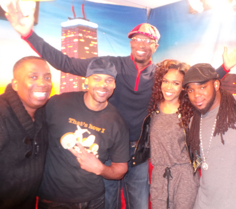 Michelle Williams Visits The Rickey Smiley Morning Show