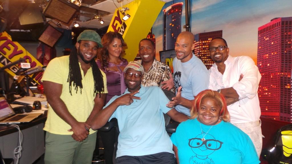 Headkrack, Claudia Jordan, Rickey Smiley, Gary With Da Tea, Rock-T, Juicy & Special K 2014 Tami LaTrell.JPG