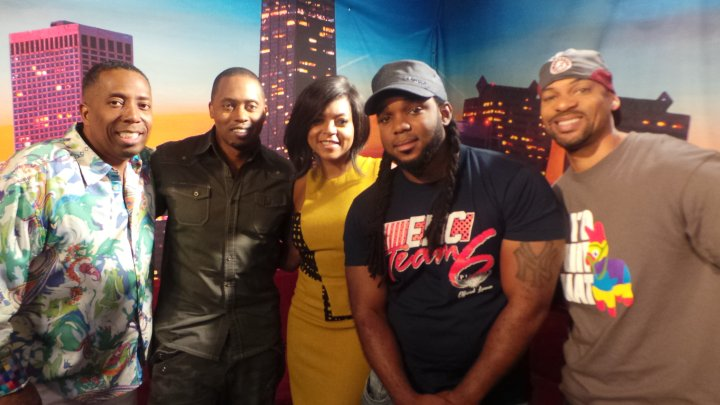 Taraji P. Henson Visits The Rickey Smiley Morning Show