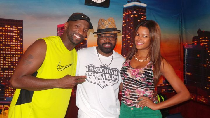 Rickey Smiley, J Moss & Claudia Jordan