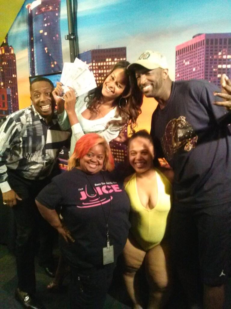 Gary With Da Tea, Juicy, Claudia Jordan, stripper & Rickey Smiley
