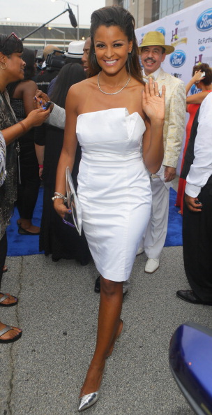 Claudia Jordan At The 2014 Neighborhood Awards