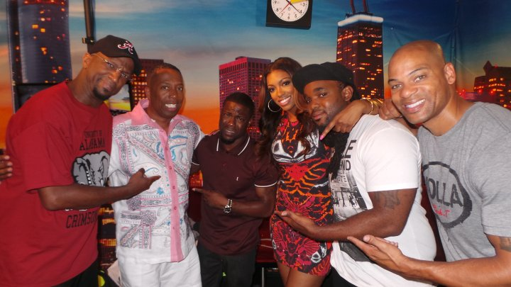 Kevin Hart With The Rickey Smiley Morning Show