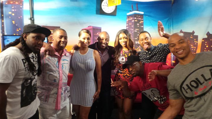 Lala & Terrance J Visit The Rickey Smiley Morning Show