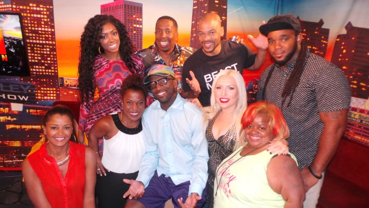 Little Women Of LA Visit The Rickey Smiley Morning Show