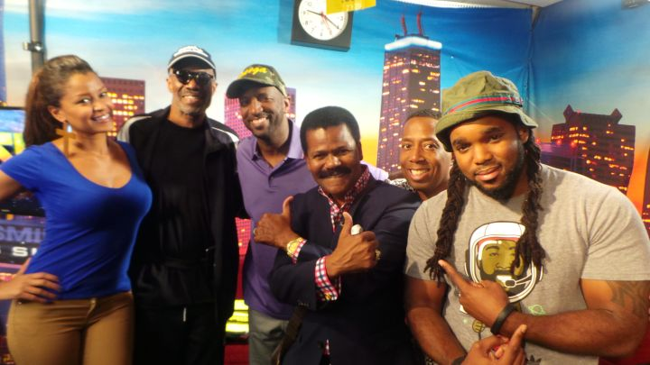 Preachers of LA Visit The Rickey Smiley Morning Show