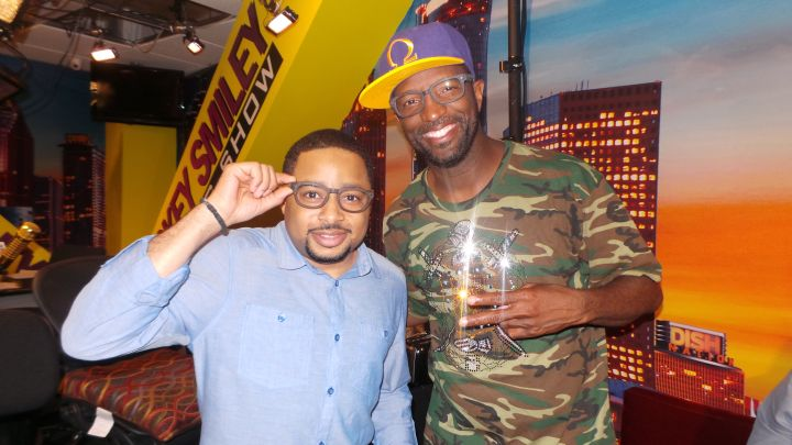 Smokie Norful With The Rickey Smiley Morning Show