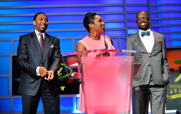 Stephen A. Smith, Sommore & Rickey Smiley