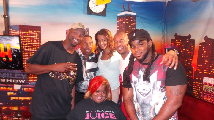 Tank Visits The Rickey Smiley Morning Show
