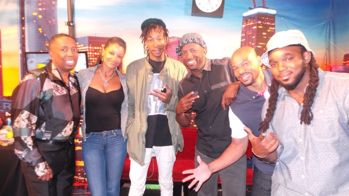 Wiz Khalifa With The Rickey Smiley Morning Show