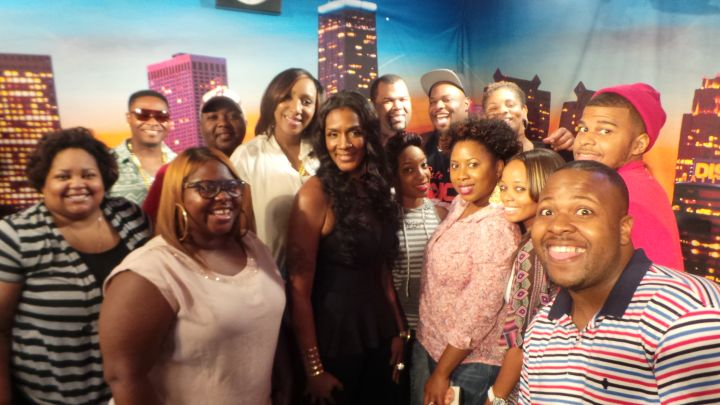 Momma Dee With Fans