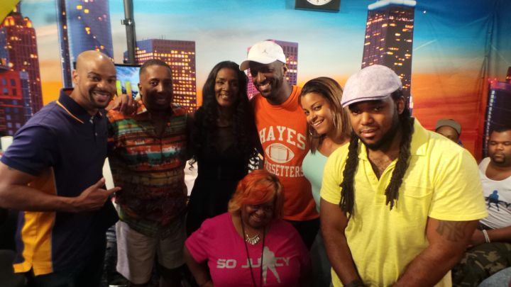 Momma Dee Visits The Rickey Smiley Morning Show