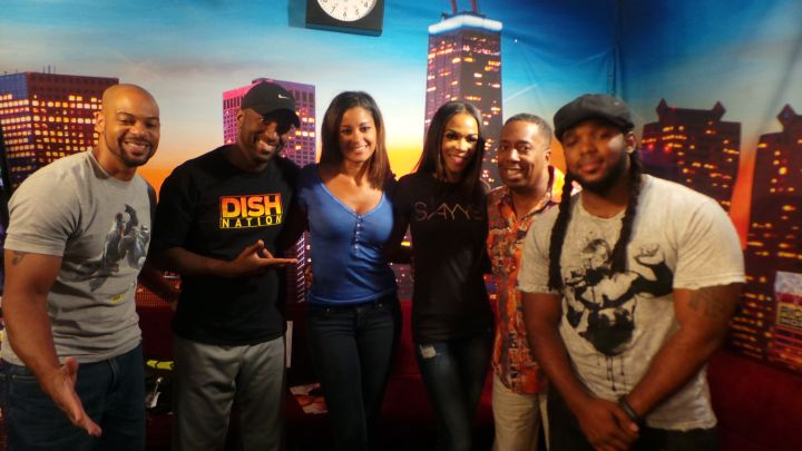 Michelle Williams, Rickey Smiley, Headkrack, Claudia Jordan, Gary With Da Tea, Headkrack