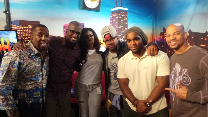 Columbus Short Visits The Rickey Smiley Morning Show