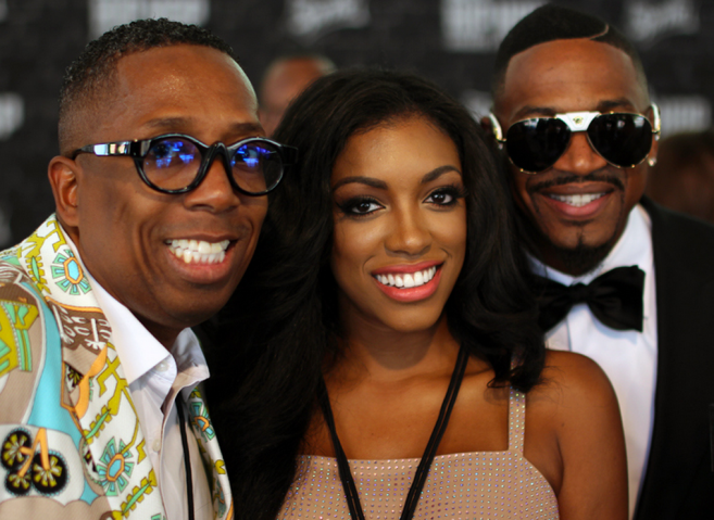 Gary With Da Tea, Porsha Williams & Stevie J