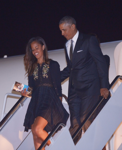 malia-obama-barack-obama-2014-getty-mandel-ngan