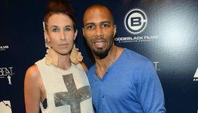 Omari Hardwick & wife