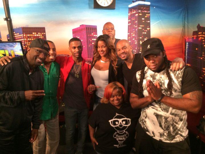 Big Sean Visits The Rickey Smiley Morning Show