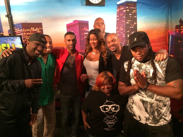 Big Sean Visits The Rickey Smiley Morning Show