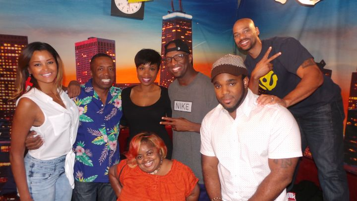 Jennifer Hudson Visits The Rickey Smiley Morning Show