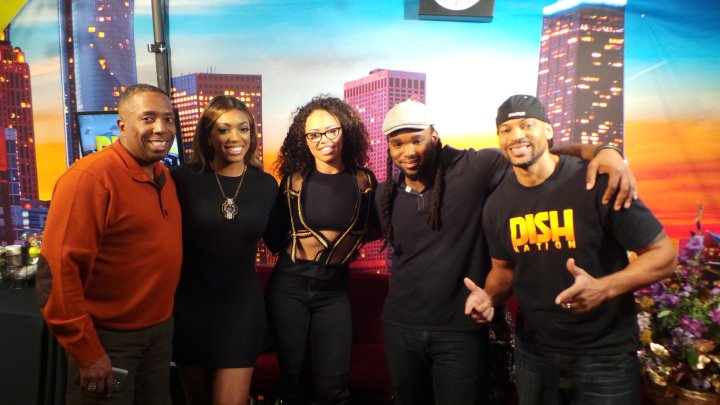 Elle Varner Visits The Rickey Smiley Morning Show