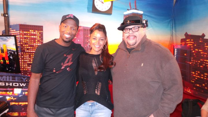 Fred Hammond Visits The Rickey Smiley Morning Show