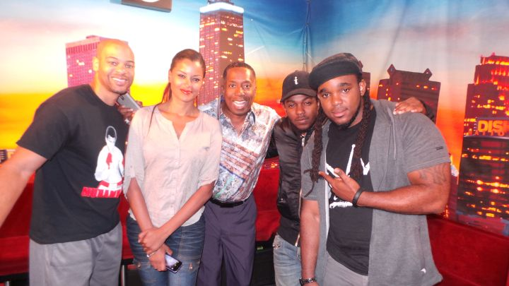Kendrick Lamar Visits The Rickey Smiley Morning Show
