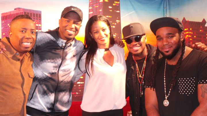Ne-Yo Visits The Rickey Smiley Morning Show