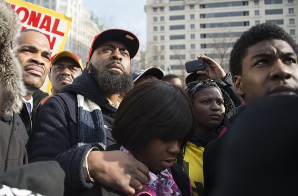 Michael Brown Sr. & Trayvon Martin's Brother Jahvaris Martin